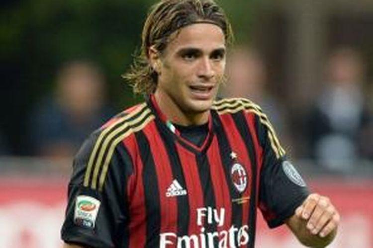 Striker AC Milan, Alessandro Matri.