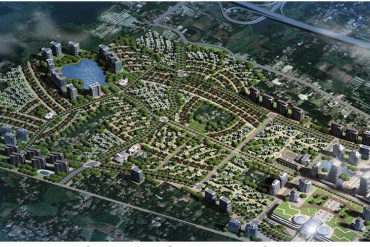 Hunian berbasis TOD di BSD City, Serpong, kerja sama antara Sinarmas Land, dan Mitsubishi Corp sorta Surbana Jurong.