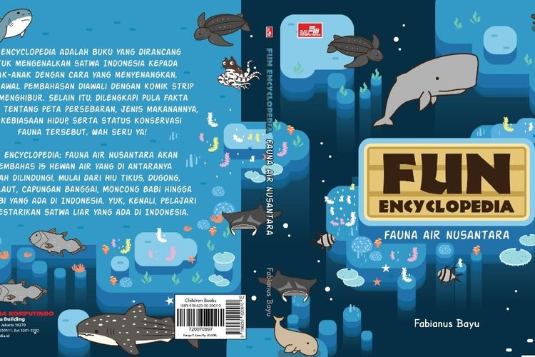 Fun Encyclopedia terbitan Elex Media Komputindo terbagi menjadi dua seri yaitu: Fauna Darat Nusantara dan Fauna Air Nusantara yang diisi dengan komik strip dan informasi terkait satwa-satwa yang ada di Indonesia.