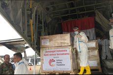TNI AU Jemput APD Bantuan dari Singapura dan Kamboja