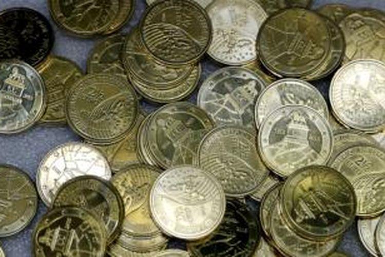 Belgia mencetak uang koin baru bernilai 2,50 euro untuk memperingati kekalahan Napoleon Bonaparte dalam Pertempuran Waterloo 1815. Pencetakan uang koin baru ini mendapat kecaman dari Perancis.