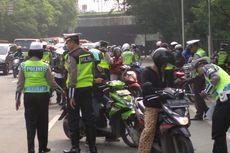 Kendaraan yang Tak Patuh Aturan Saat PSBB Jakarta Bakal Kena Tilang?
