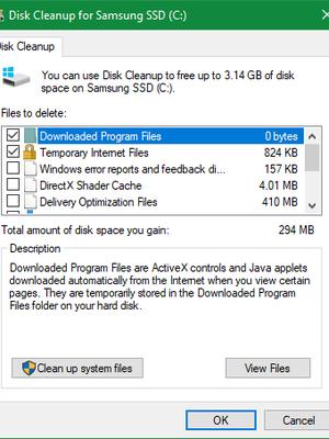 Cara membersihkan file sampah di komputer dengan sistem operasi Windows 10.
