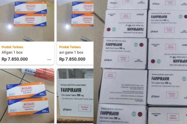 Sejumlah obat keras (berlogo merah dengan huruf K) yang digunakan untuk terapi Covid-19 diduga masih diperdagangkan secara bebas di luar apotek.