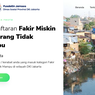Banyak Peminat, Portal Pendaftaran Fakir Miskin DKI Jakarta Susah Diakses