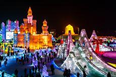Harbin Snow and Ice Festival Ke-37 Tetap Diadakan di Tengah Pandemi
