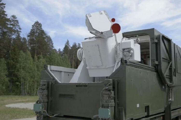 Inilah Peresvet. Senjata laser yang diperkenalkan Rusia.