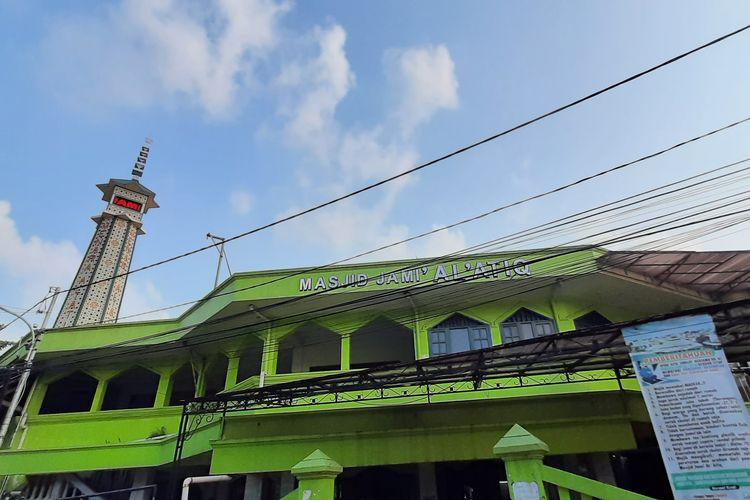 Masjid Al-Atiq Kampung Melayu di Tebet, Jakarta Selatan.
