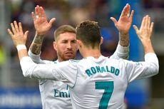 Pada Tengah Laga Eibar Vs Real Madrid, Sergio Ramos Izin ke Toilet