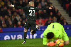 Hasil Liga Ingris, David Silva Tentukan Kemenangan Man City atas Stoke
