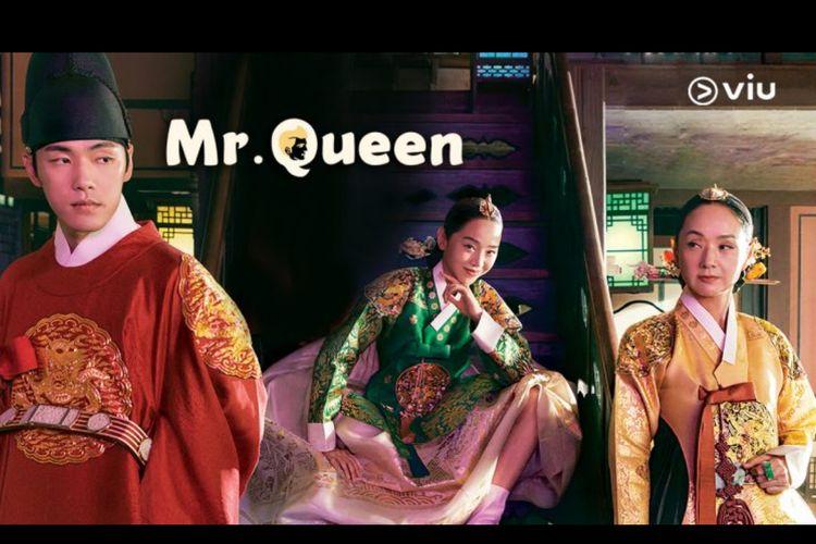Poster drama korea Mr. Queen (2020). Tayang di VIU mulai Minggu (13/12/2020).