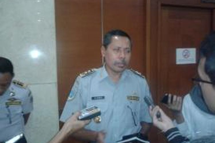 Kepala Dinas Perhubungan DKI Jakarta Muhammad Akbar