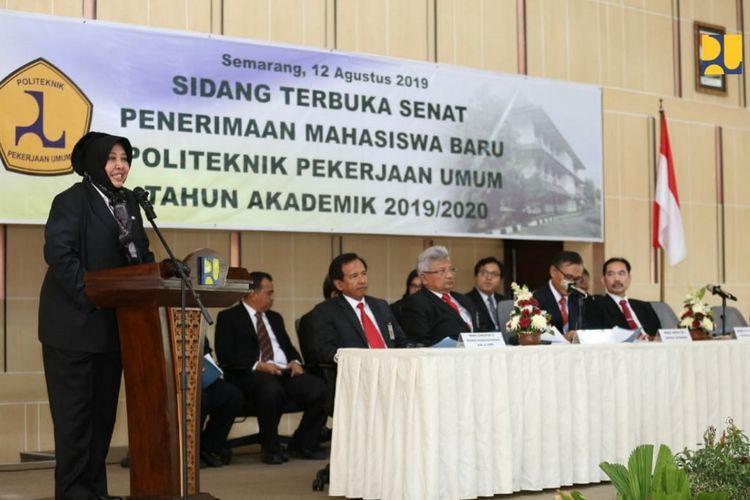 Sekretaris Jenderal Kementerian Pekerjaan Umum dan Perumahan Rakyat (PUPR) Anita Firmanti.
