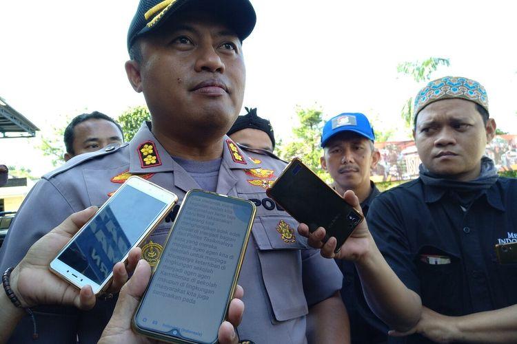 Kepala Polres Tasikmalaya Kota AKBP Anom Karibianto.