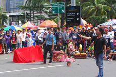 Pedagang di CFD Sudirman-Thamrin Akan Ditertibkan