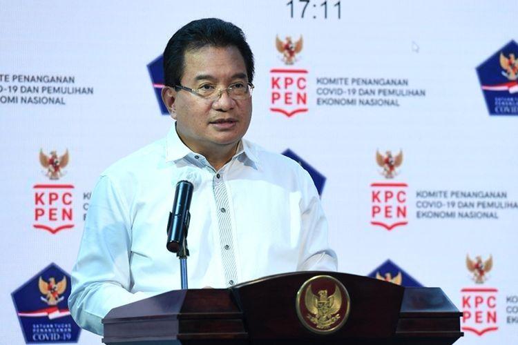 Juru Bicara Satuan Tugas Covid-19 Prof drh Wiku Bakti Bawono Adisasmito (DOK. BPMI)