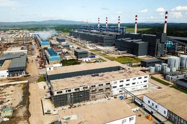 Ilustrasi: Kawasan industri PT VDNI dan PT OSS yang terletak di kecamatan Morosi, kabupaten Konawe, provinsi Sulawesi Tenggara (Sultra) foto dokuementasi PT VDNI