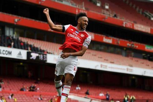 Habis Pecahkan Rekor Henry, Aubameyang Biarkan Masa Depannya di Arsenal Penuh Tanda Tanya