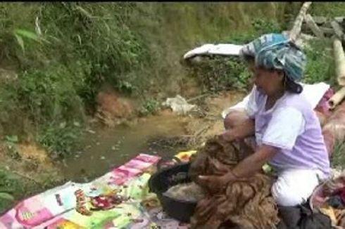 Korban Banjir dan Tanah Longsor di Batanguru Kesulitan Air Bersih