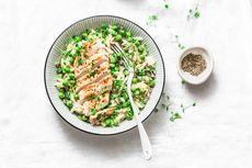 Resep Risotto Ayam Kacang Polong, Bisa Pakai Sisa Daging Ayam
