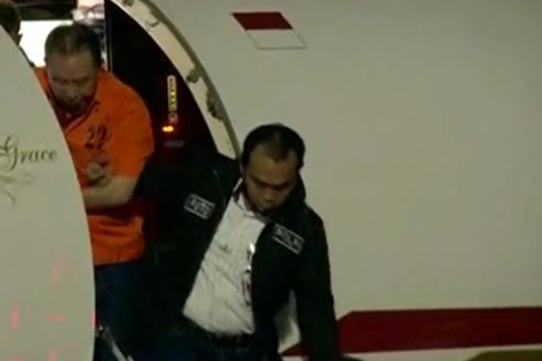 Djoko Tjandra Mendarat di Bandara Halim Perdanakusuma