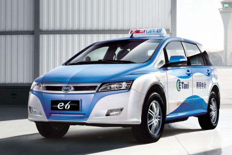 Taksi listrik BYD E6