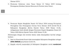 Bupati Bangkalan Keluarkan Surat Edaran Batasi Aktivitas Warga karena Lonjakan Kasus Covid-19, Ini Isinya
