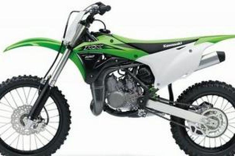 Kawasaki Luncurkan Trail 2 Tak 100 Cc