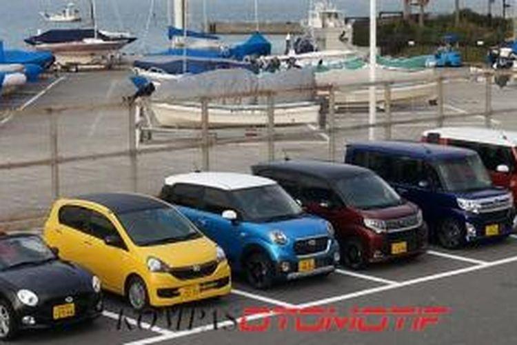 Kei Car Daihatsu yang beredar di Jepang