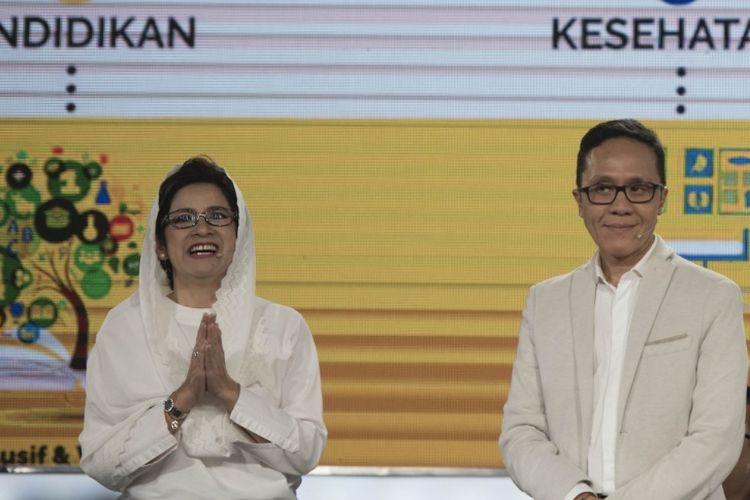 Pasangan nomor urut 1 Pilkada Kota Bandung, Nurul Arifin dan Chairul Yaqin Hidayat