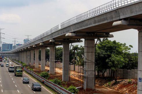 Proyek LRT Jabodebek Capai 35,2 Persen
