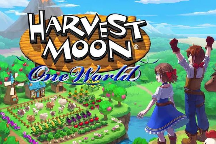 Poster game Harvest Moon: One World.