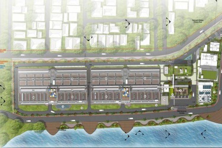 Ilustrasi Instalasi Pengelolaan Air Limbah Domestik (IPALD).