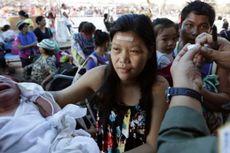 Di Daerah Bencana, Filipina Gencarkan Vaksinasi