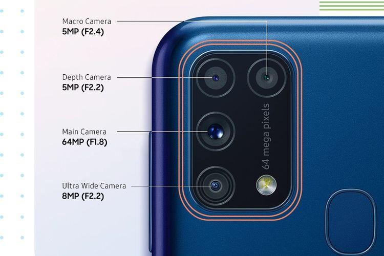 Kamera HP Samsung M21