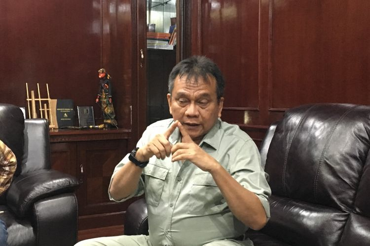 Wakil Ketua Dewan Perwakilan Rakyat Daerah (DPRD) DKI Jakarta Mohamad Taufik saat ditemui di Gedung DPRD DKI Jakarta Pusat, Rabu (17/5/2017).