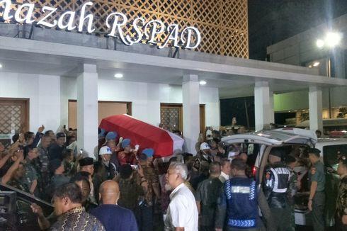 Jenazah BJ Habibie Diberangkatkan dari RSPAD ke Kediaman Pribadinya