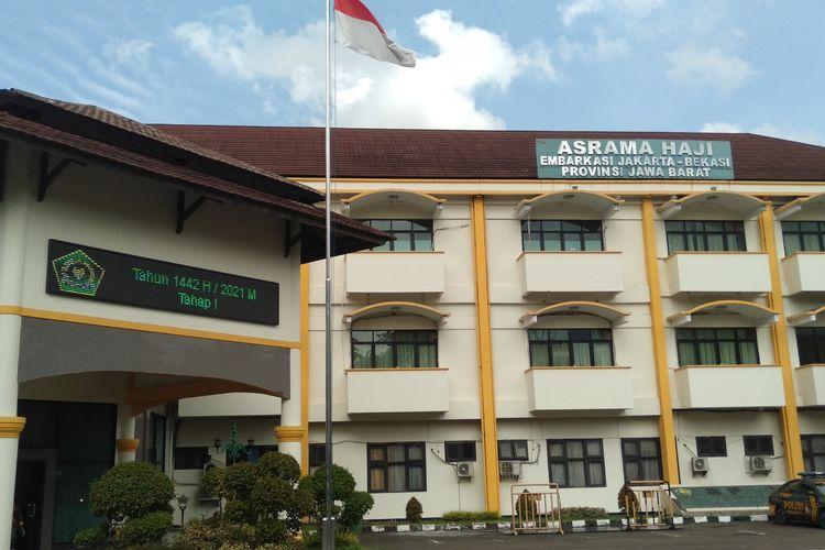Asrama Haji Bekasi yang akan dijadikan RSD Covid-19, Jumat (11/12/2020)