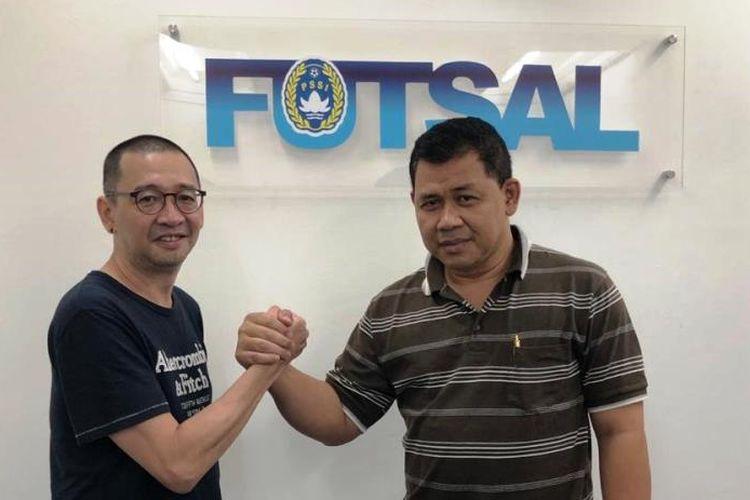 Justin Lhaksana ditunjuk sebagai Penasihat Teknis oleh Sekjen Federasi Futsal Indonesia (FFI), Edy Prasetyo, pada Senin (8/4/2019).