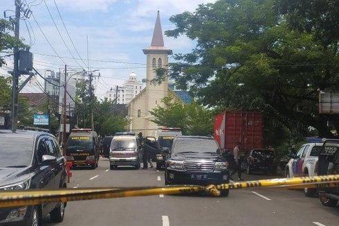 Akibat Ledakan di Depan Gereja Katedral Makassar, Dua Misa Ditiadakan