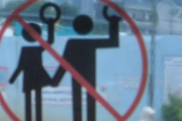 Foto ilustrasi pelecehan seksual