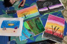 Ajak Siswa Kreatif, Pelajaran Menggambar Harus Merdeka dan Bebas