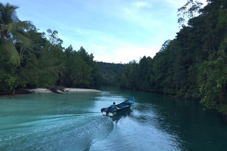 Salah satu kekayaan alam yang ada di Kepulauan Sula, Maluku Utara.