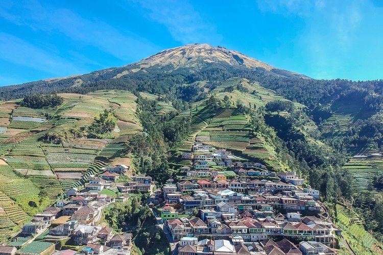 Nepal van Java Dusun Butuh, Kaliangkrik, Magelang di Kaki Gunung Sumbing