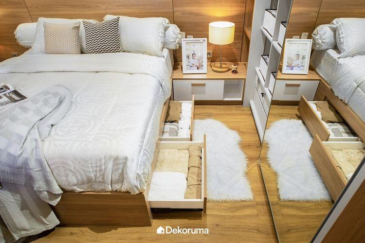 Kamar dengan Banyak Ruang Penyimpanan