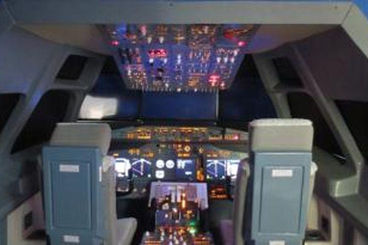 Wahana Flight Academy di Jungleland, Sentul