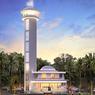 Citra Swarna Bangun Masjid dengan Minaret Setinggi 24 Meter