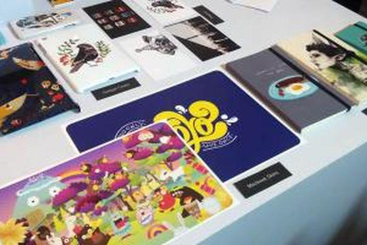 Produk-produk dari percetakan online Printerous.