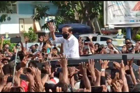 Jokowi Disambut Kerumunan Saat ke Maumere, Epidemiolog: Harusnya Dihindari, NTT Berisiko Tinggi