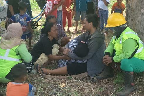 Suami Ditemukan Tewas Mengambang di Kali Teluk Intan, Istri Menangis Histeris hingga Pingsan